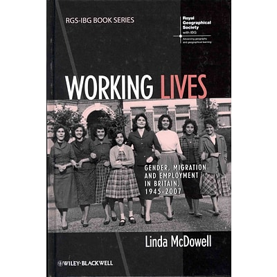 JOHN WILEY & SONS INC Working Lives Hardcover Book