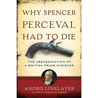 St. Martins Press A Why Spencer Perceval Had to Die Hardcover Book