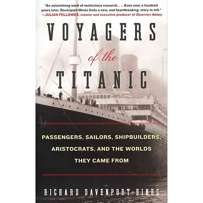 HARPERCOLLINS Voyagers of the Titanic Book