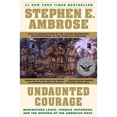 Simon & Schuster Undaunted Courage Paperback Book