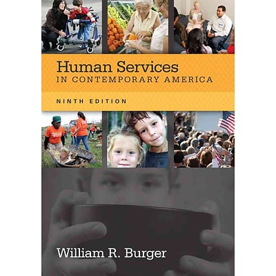 CENGAGE LEARNING® Human Services in Contemporary America Book