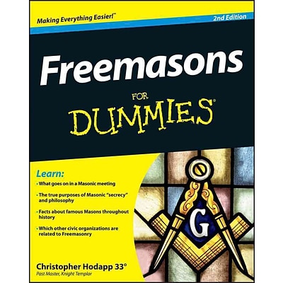 JOHN WILEY & SONS INC Freemasons For Dummies Book