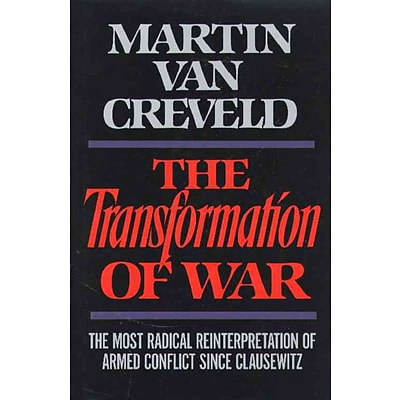 Simon & Schuster The Transformation of War Hardcover Book