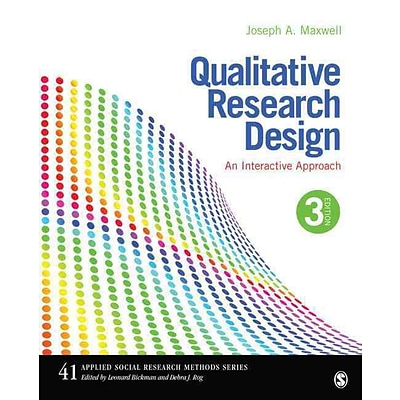 Sage Qualitative Research Design Book