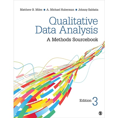 Sage Qualitative Data Analysis: A Methods Sourcebook Book