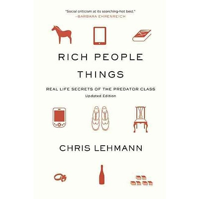 CONSORTIUM BOOK SALES & DIST Rich People Things Book