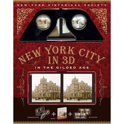 BLACK DOG & LEVENTHAL PUB New York in 3D Paperback Book