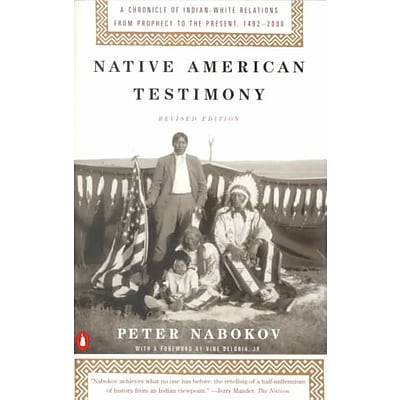 PENGUIN GROUP USA Native American Testimony Paperback Book