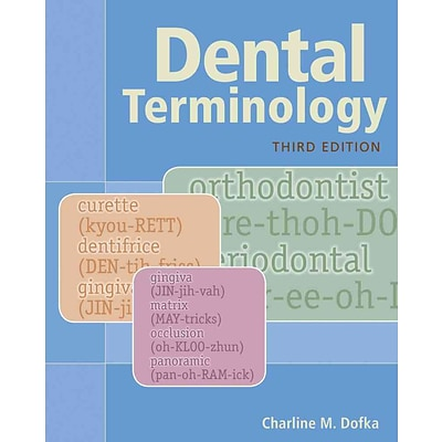 CENGAGE LEARNING® Dental Terminology Book
