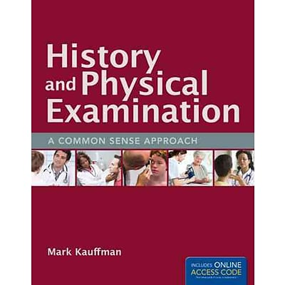 JONES & BARTLETT LEARNING History and Physical Examination Book