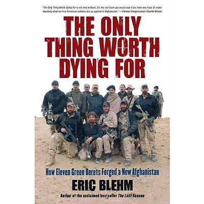 HARPERCOLLINS The Only Thing Worth Dying for Paperback Book