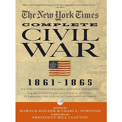 BLACK DOG & LEVENTHAL PUB The New York Times Complete Civil War, 1861-1865 Hardcover Book