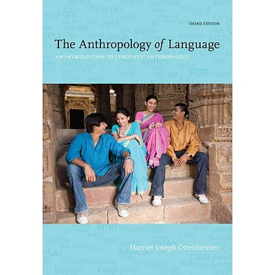 CENGAGE LEARNING® The Anthropology of Language Book