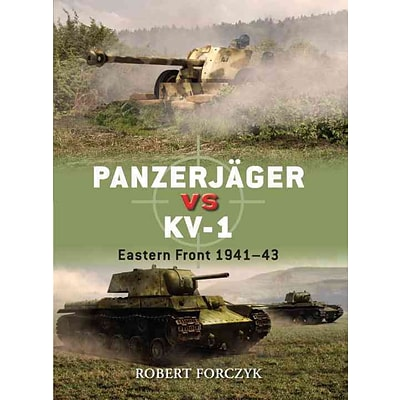 OSPREY PUB CO Panzerjager vs KV-1 Book