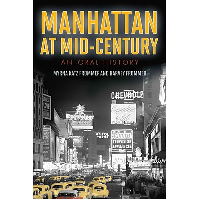 National Book Network Manhattan at Mid-Century Paperback Book