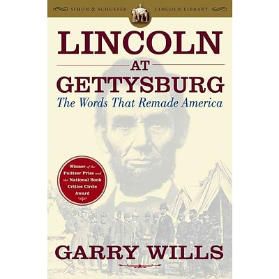Simon & Schuster Lincoln at Gettysburg Paperback Book