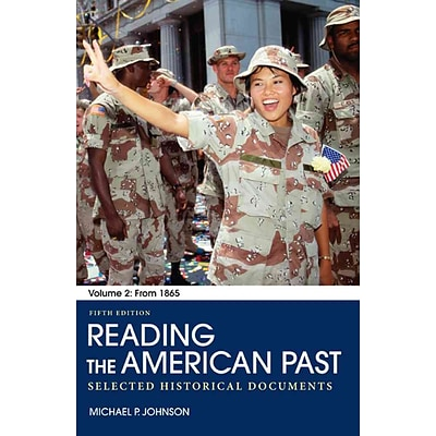 Macmillan Higher Education Reading the American Past: Volume II Paperback Book