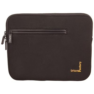 Urban Factory Urban Sleeve With Front Pocket And Memory Foam For 13.3/14.1 Notebook; Black