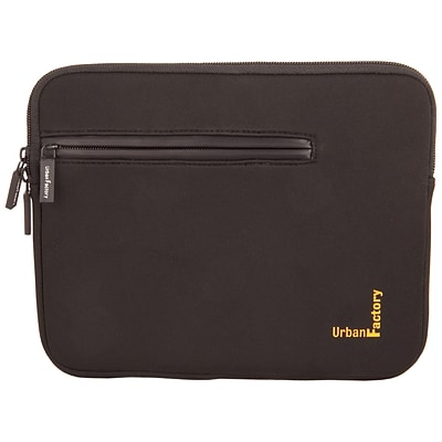Urban Factory Urban Sleeve With Front Pocket And Memory Foam For 15.6 Notebook; Black