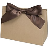 Purse Style 8x3 1/2x5 1/2 Kraft Gift Box