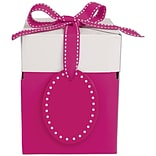 Giftalicious 4x4x4 3/4 Pink Pop-Up Box