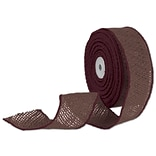 2x10 Yds. Brown Wired Burlap Ribbon
