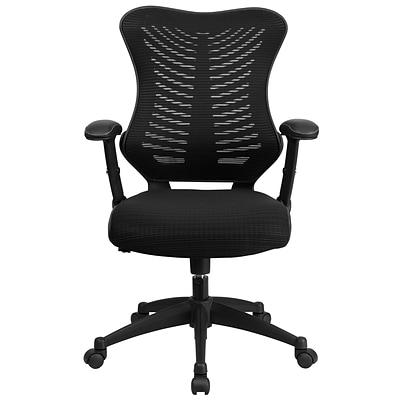 flash furniture blzp806bk mesh office chair black quill com