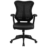 Flash Furniture BLZP806BKLEA Mesh Office Chair; Black