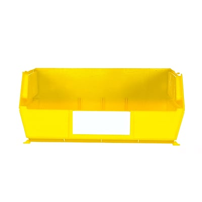 LocBin 3-235Y 11L x 11W Bin 6 CT, Yellow