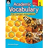 Academic Vocabulary: 25 Lessons Level 1