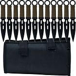 Trademark Whetstone™ 12 Piece Cutlery S-Force Kunai Knife Set