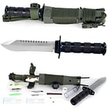 Trademark Whetstone™ 10 Anchored Eagle Survival Knife With Sheath