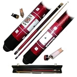 Red Royal Flush Poker BLRD Pool Stick