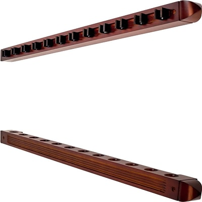 Trademark 12 Cue Wall Mount Rack