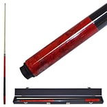 Red Marble Graphite Cue Billiard Stick