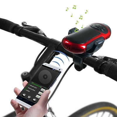 Northwest MM1313 Portable Bluetooth Speaker With Flashlight and Bike Mount