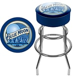 Trademark Blue Moon Swivel Bar Stool