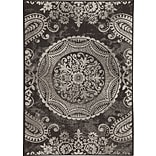 Balta Rugs 30413690.240305 8x10 Indoor/Outdoor Rug, Black