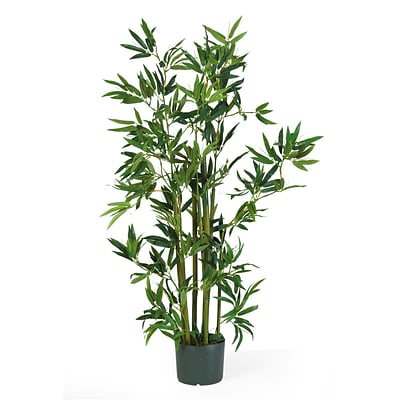 Nearly Natural 5040 4 Bamboo Silk Plant in Pot
