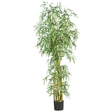 5194 7 Curved Slim Bamboo Tree in Pot