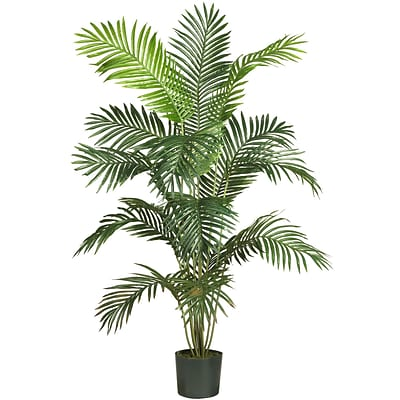 Nearly Natural 5260 6 Paradise Palm Plant in Pot