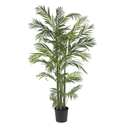 Nearly Natural 5274 5 Areca Silk Palm Tree in Pot