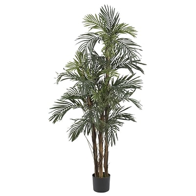 Nearly Natural 5283 5 Robellini Palm Silk Tree in Pot
