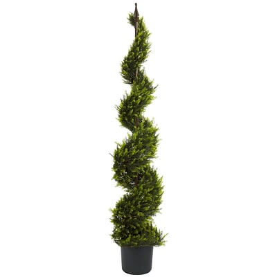Nearly Natural 5325 5 Cypress Spiral Tree in Pot