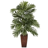 Areca Palm Desk Top Plant in Dec Vase