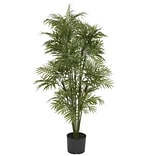 5339 4 Plastic Parlour Palm Tree in Pot