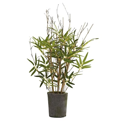 Nearly Natural 5360 27 Bamboo Tree in Pot