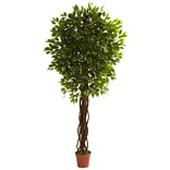 Nearly Natural 5379 Ficus Tree in Pot