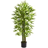 Nearly Natural 5384 4 Bamboo Tree in Pot