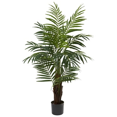 Nearly Natural 5415 4 Areca Palm Tree in Pot